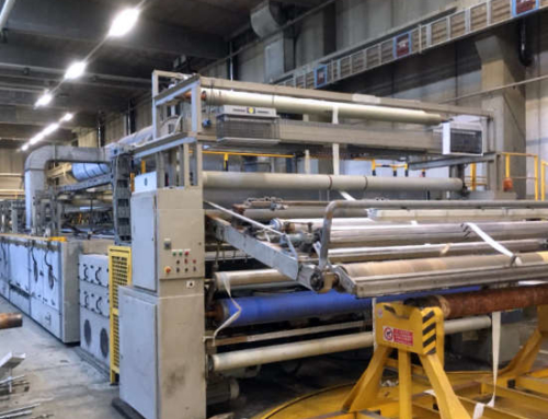 Babcock Complete Single Layer Stenter Line