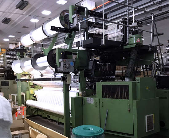 Karl Mayer Raschel MRES Warp Knitting Machines | Asieur Textile