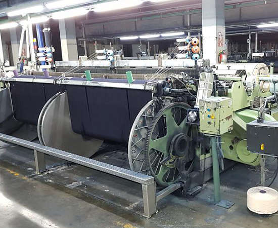 Sulzer P7100 Projectile Looms